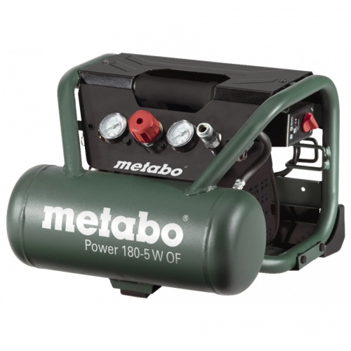 METABO Bezeļļas kompresors Power 180-5 W OF,