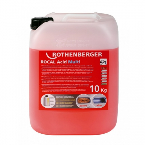 ROTHENBERGER Koncentrāts ROCAL Acid Multi, 10 kg,