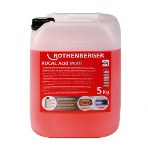 ROTHENBERGER Koncentrāts ROCAL Acid Multi, 5 kg,